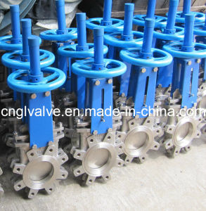 ANSI16.5 Ductile Iron Stainless Steel Knife Gate Valve pictures & photos