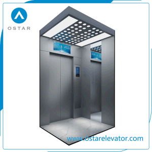 Elevator Parts, Golden Etching Passenger Elevator Cabin, Lift Cabin Design (OS41) pictures & photos