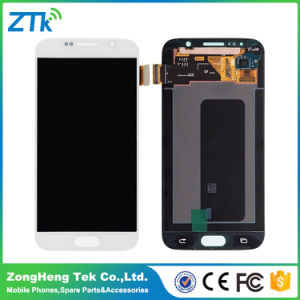 Mobile Phone Touch Screen LCD for Samsung Galaxy S6 pictures & photos