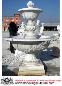 Hand Carved Marble Water Fountain for Garden (sk-2433) pictures & photos