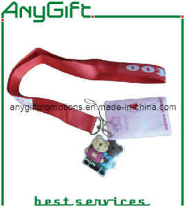 Silk Screen Printed Lanyard with Customized Logo (LAG-LY-14) pictures & photos