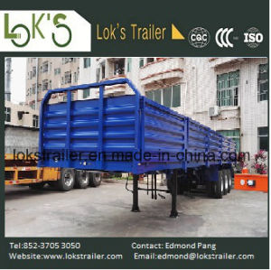 40 Feet 3 Axles 5-Compartment Walled Trailer pictures & photos