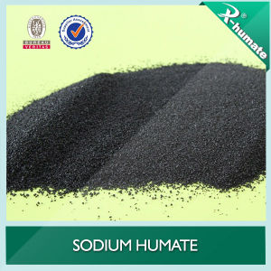 90% Shiny Crystal (1-2mm) Sodium Humate pictures & photos