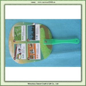 Custom Logo Plastic Hand Fan Make in Virgin Materials for Promotion pictures & photos