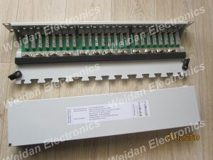 CAT6A FTP Patch Panel (WD6A-012) pictures & photos