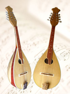 Mandolin /Bowl Back Oval Hole pictures & photos