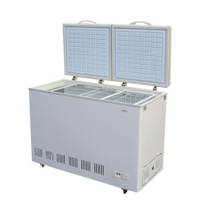 Hot Sell 318L DC Solar Power Refrigerator pictures & photos