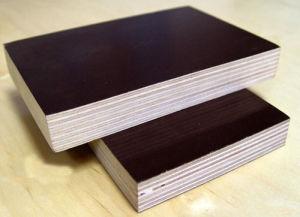 6mmx1220X2440 Poplar Core WBP Glue Film Faced Plywood