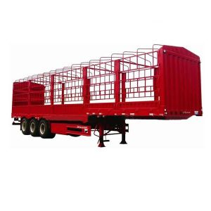 ISO CCC Approved 3 Axles 35t 40ft Stake Trailer pictures & photos