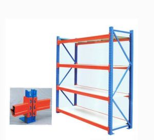 Factory Supply Storage Rack Steel Heavy Duty Goods Shelf pictures & photos