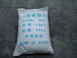 Zinc Sulfate Monohydrate, Heptahydrate