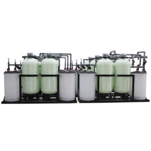 Calcium and Magnesium Exchange Water Softener Unit pictures & photos