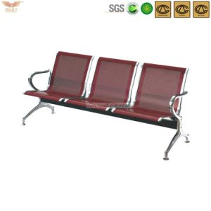 Airport Double Row 3 -Seat Passenger Waiting Chair with Arm pictures & photos