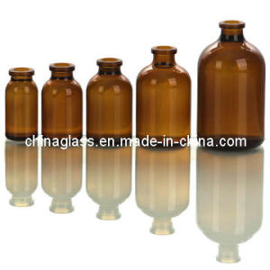 Amber Glass Bottle pictures & photos