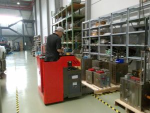 6t Electric Pallet Truck (Te Series) pictures & photos