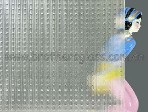 Clear Patterned Glass (BRG001)
