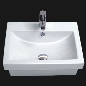 Unique Porcelain Bathroom Vessel Sink (6027) pictures & photos