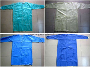 Hubei MEK Disposable PP Non Woven and SMS Surgical Gown pictures & photos