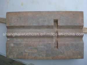 High Manganese Crusher Parts for Impact Crusher pictures & photos