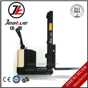 Jeakue 0.75t Counterbalanced Battery Operated Electric Stacker pictures & photos