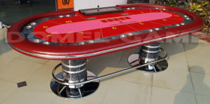 Casino Texas hold′em Poker Table (DPT4A16A) pictures & photos
