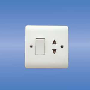 16a 1-G Multi Function Socket+20a Double Pole Switch pictures & photos