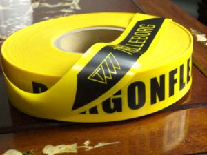 Danger Caution Tape, Barricade Warning Tape pictures & photos