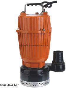 Aluminium Body Clean Water Multistage Submersible Pump (SPA6-28/2-1.1) pictures & photos