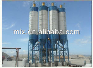 Mobile Cement Silo in Concrete Batching Plant pictures & photos