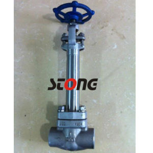 Forge Steel Cryogenic Globe Valve with Extend Stem pictures & photos