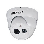 Dome Security Camera with Array IR LED