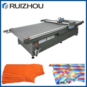 CNC Automatic Single Layer Fabric Cloth Cutting Machine pictures & photos