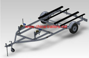 Twin Jet Ski Trailer--Tr0511b pictures & photos