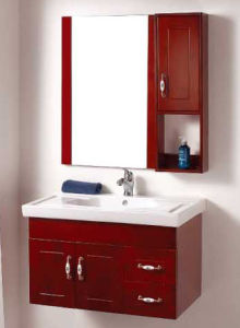 Wall Mounted Oak Bathroom Vanity China (BL119)