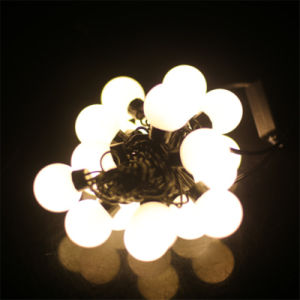 Christmas Waterproof 4cm Round Balls LED String Light for Decoration