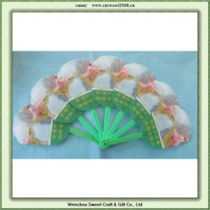 Summer Advertising PP Plastic Hand Fan, Custom Free Gift Fan for Promotion pictures & photos