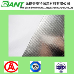 Reinforced Aluminum Foil with White PVC (Flame retardant) 5*5 Mesh pictures & photos