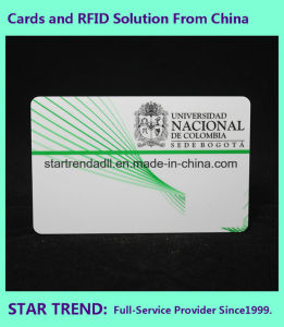 Membership Card Made Form PVC Standard Cr80 pictures & photos