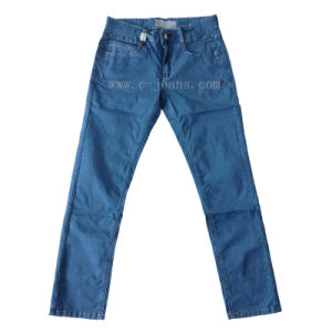 Men′s Fashion Jeans Leisure and Slim (CFJ098)