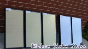 Low E/Laminated/Insulated/Tempered/Curtain Wall Building Glass with High Quality (JINBO) pictures & photos