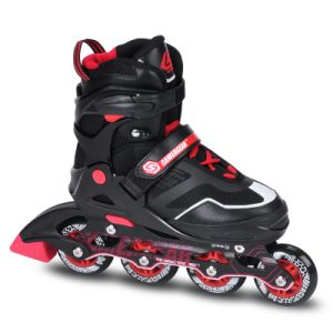Semi Soft Adjustable Inline Skate (SS-161A-1) pictures & photos