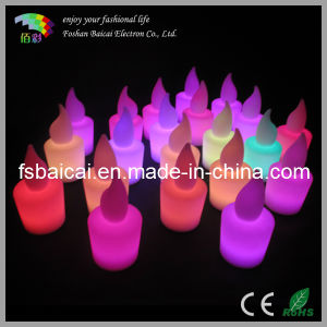 Hot Sale Christmas Luminous LED Candle Light pictures & photos