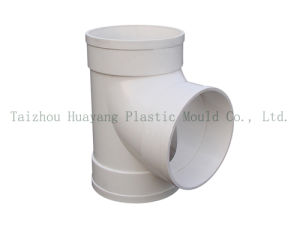 Plastic Tee Pipe Fitting Mould (HY087) pictures & photos