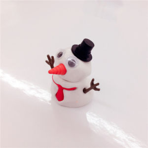 China Plastic Pot Toys for Kids Melting Snowman Putty pictures & photos