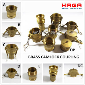 Brass Camlock Coupler in Type a, B, C, D, E, F, DC, Dp pictures & photos