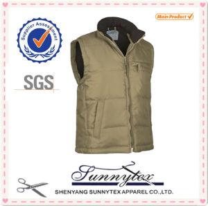 Men Bodywarmer New Winter Outdoor Padding Plus Size Vest Waistcoat pictures & photos