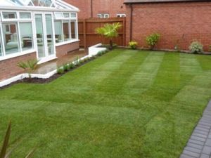 Heavy Metal Free Artificial Grass for Garden Lawn pictures & photos