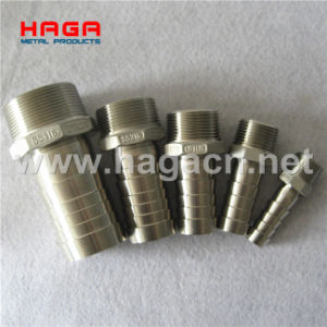 Stainless Steel Hydraulic Fitting Thread Hose Nipple pictures & photos