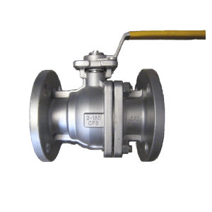Lever Operation Two Pieces Body Carbon Steel Ball Valve