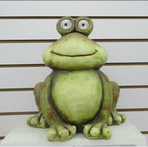 Funny Frog Solar Spot Light Frog Figurine Garden Decoration pictures & photos
